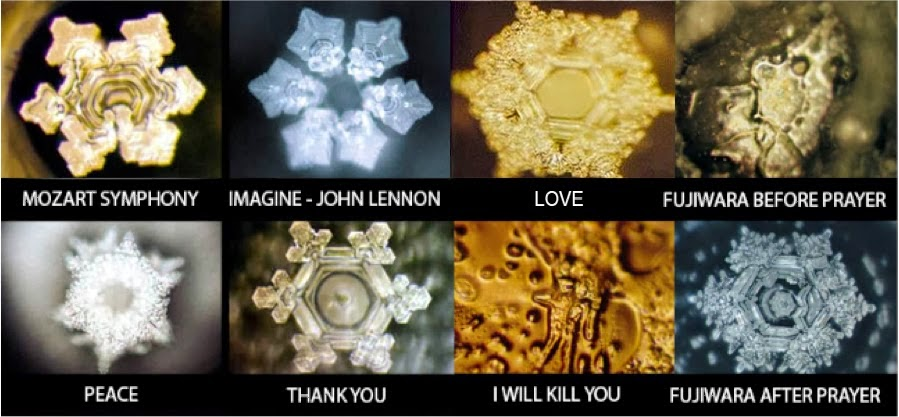 432 Hz WATER (the Creator is YOU) ! Masaru Emoto's experiment -